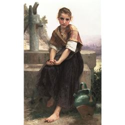 William Bouguereau - The Broken Pitcher