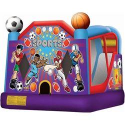 Sports Combo Jumper w/ Slide 18'x15'