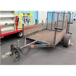 "Utility Trailer, Approx. 7 Ft, 5"" Long, 4 Ft, 10 Inches Wide"