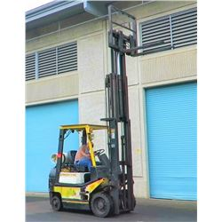 World Forklift w/ Side Shift - Runs, Lifts, Drives - See Video