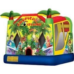 Tropical Island Jumper/Slide Combo 18'x15'