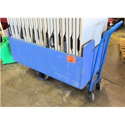 Blue Table Cart (tables not included