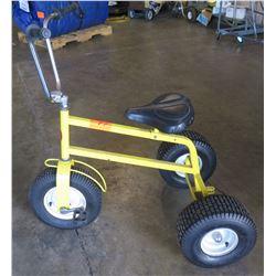 Yellow Adult Trike