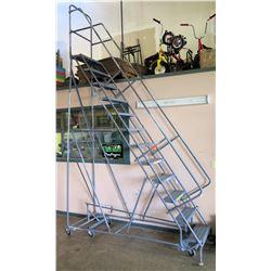 Rolling Safety Ladder, 12-Step