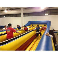 3-Lane Bungee Run Inflatable