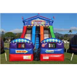 Fun House Slide Inflatable