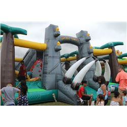 Jurassic Adventure Playzone Inflatable