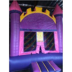 13' Pink/Purple Castle Jumper