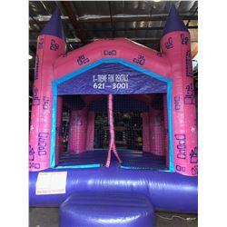 13' Pink Castle Jumper