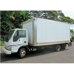 2005 GMC W4500 High Cube Box Truck w/Lift Gate (Runs, Drives, Lift Gate Works - See Video)
