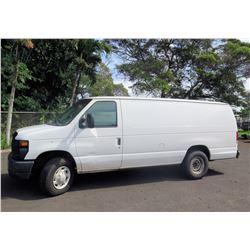 2008 Ford E250 Cargo Van (Runs, Drives - See Video)