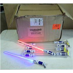 Qty 72 Dual LED Light-up Swords