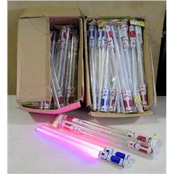 Dual LED Light-up Swords