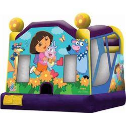 Dora the Explorer Jumper/Slide Combo 18'x15'