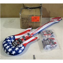 Qty 148 USA Inflatable Guitar