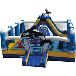 Pacific Combo Ocean-Themed Play Zone 30 x 30 (blower not included)
