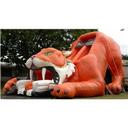 Saber Tooth Tiger Slide 45' L x 25' W x 27' H (blower not included)