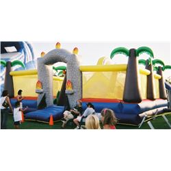 Dino Play Zone 30' x 30' (blower not included)