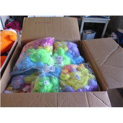 Qty 144 - Asst. Colors Mini Gorilla Plush