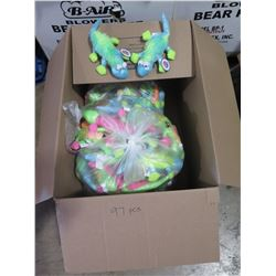Qty 97 - Colorful Lizard Plush