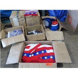 Mixed Lot - 6 boxes patriotic Hats and Pinwheels
