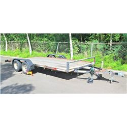 Trailer - Used to Tow Trackless Train (Lot #105)