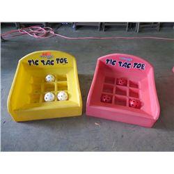Qty 2 - Tic Tac Toe Table Top Games