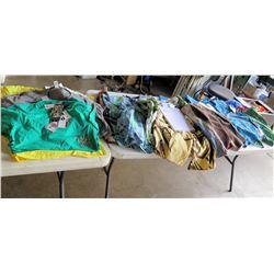 Mix Lot - HINANO board shorts,  Rayasurf Board Shorts.  Dunkenvolk T shirts