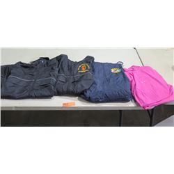 Mixed Lot - Asst. Sizes. Black Jackets, Pink Polo Shirts