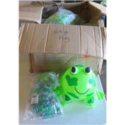 Qty 100 - Frog Inflatable