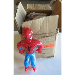 Qty 160 - Small Spiderman inflatable