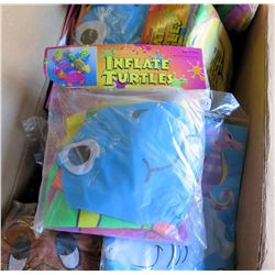 Qty 47 - Mixed blow up Inflatables