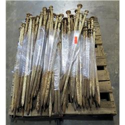 """Contents of Pallet: 1"""" Tent Stakes (3 feet - 4 feet)"""
