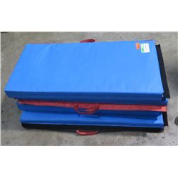 Qty 3 - Impact Mat made by TentandTable.  Conforms to ASTM standards.  Made for front of jumpers.