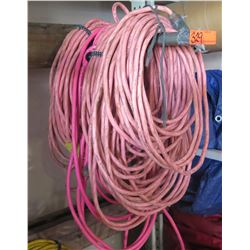 Qty 6 Extension Cords - 50 Foot Long, 12 Guage