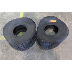 Qty 2 - Riding Lawn Mower Tires.   20x10.00x8 Carlisle Tubeless Turf Saver 2 ply