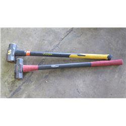 Qty 2 - Sledge Hammers