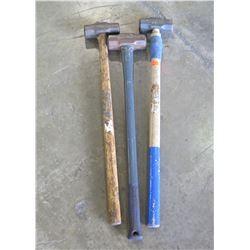 Qty 3 - Sledge Hammers