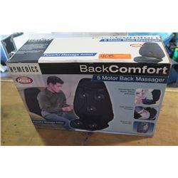 Homedics back comfort massager
