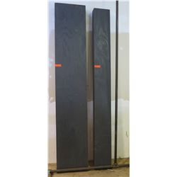 """Display shelves.   96""""x18"""" and 96""""x10"""" used for craft fairs and events."""