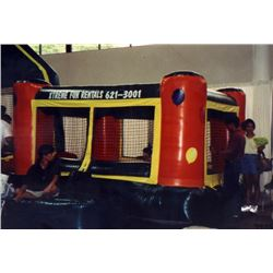 Indoor Jumper Inflatable (can be used with plastic balls as a ball pit)