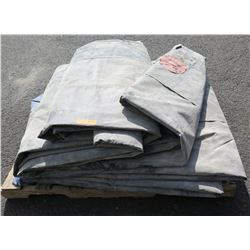 Giant Mat for ground cover.   Approximately 55 Feet long x 20 Feet wide.  A rare find.   Can be used