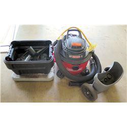 Craftsman vacuum- 6 gallon shop vac.   Hose and accessories.