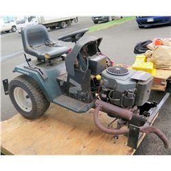 Mechanics special.   Craftsman Garden tractor.   Kohler engine.