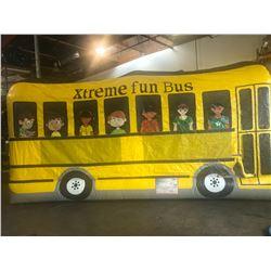 Xtreme Fun School Bus Jumper Combo