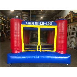 Indoor Jumper - Blue/Red/Yellow, Approx. 10' x 10' x 8', Small, Low-Profile