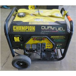 Champion 7000W Generator, Dual Fuel (Does Not Run)