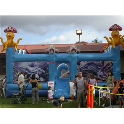 Ocean Play Zone 30'x30', Blowers Not Included, Older Worn Unit