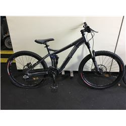 GREY SPECIALIZED PITCH 18 - SPEED FULL SUSPENSION MOUNTAIN BIKE WITH FULL DISC BRAKES