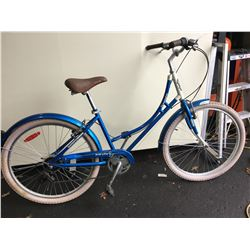 BLUE KENSINGTON EVERYDAY 6 - SPEED CRUISER BIKE